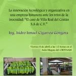 Conferencia: La innovación tecnológica y organizativa en una empresa bananera